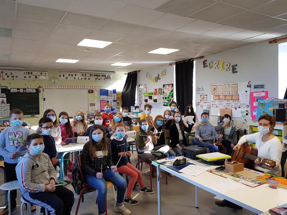 École Sainte-Pompée Langoat
